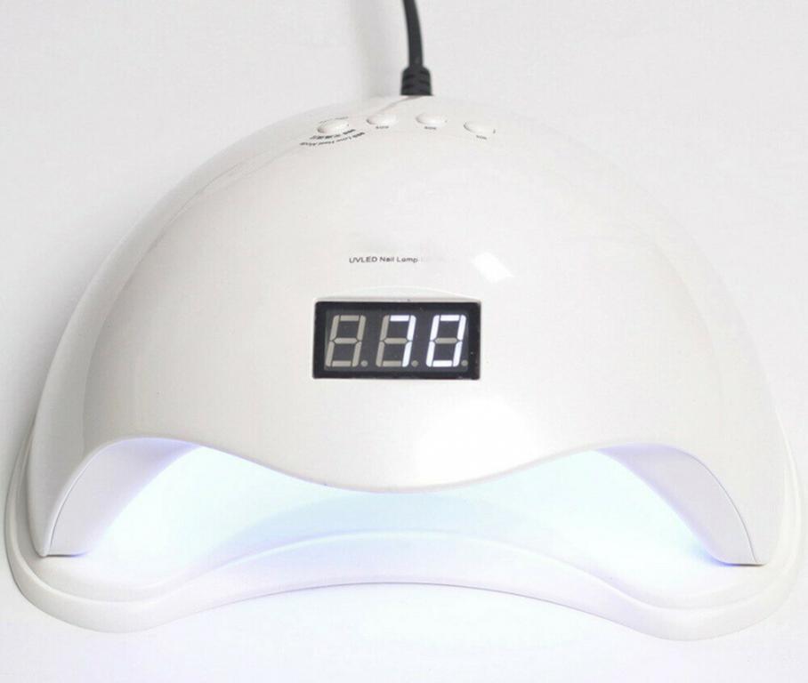 Стартовый набор для маникюра Гель, гель лак , UV/LED лампа 48W