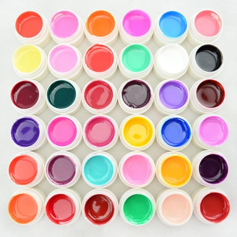 Хит Гели Уф - краска для ногтей 36 шт.