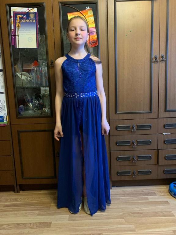 Нарядное платье Шифон Пайетки Стразы Кружево 3 цвета Новинка