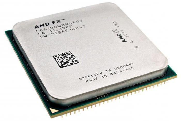 Процессор AMD FX 6100 AM3 3.3 Ггц 8 Мб 6 ядер