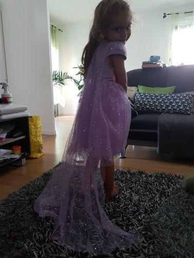 Платье принцесса София со шлейфом Новинка
