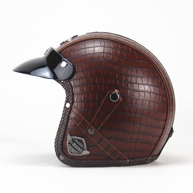 Шлем мотоциклетный чоппер Новинка