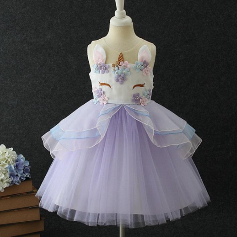 Роскошное нарядное платье Единорожек 4 рацветки Новинка