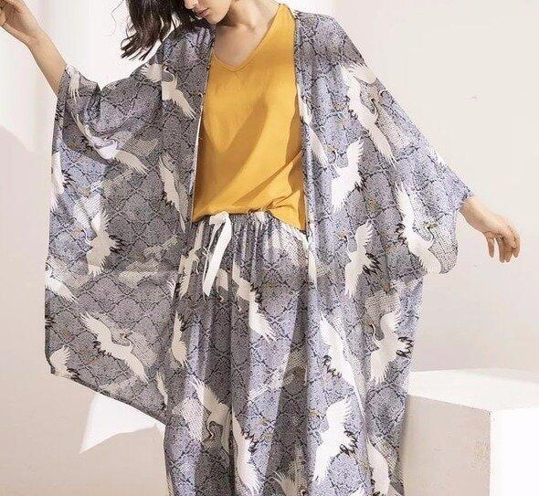 Стильный комплект из 4 шт. Пижама 7 расцветок Новинка