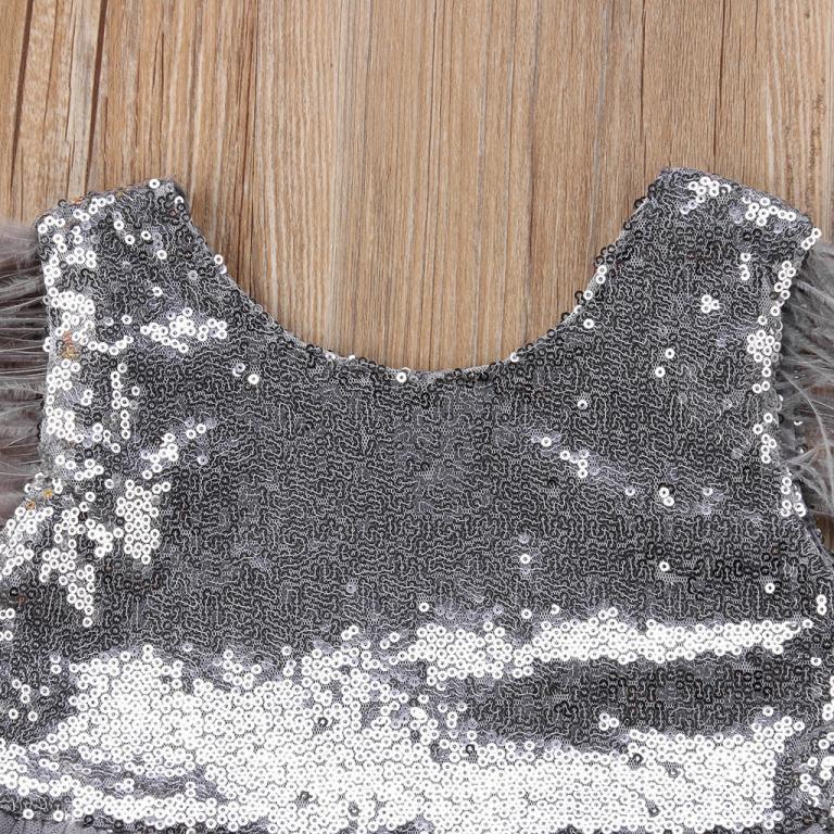 Нарядное платье на выпускной Серебро пайетки Новинка