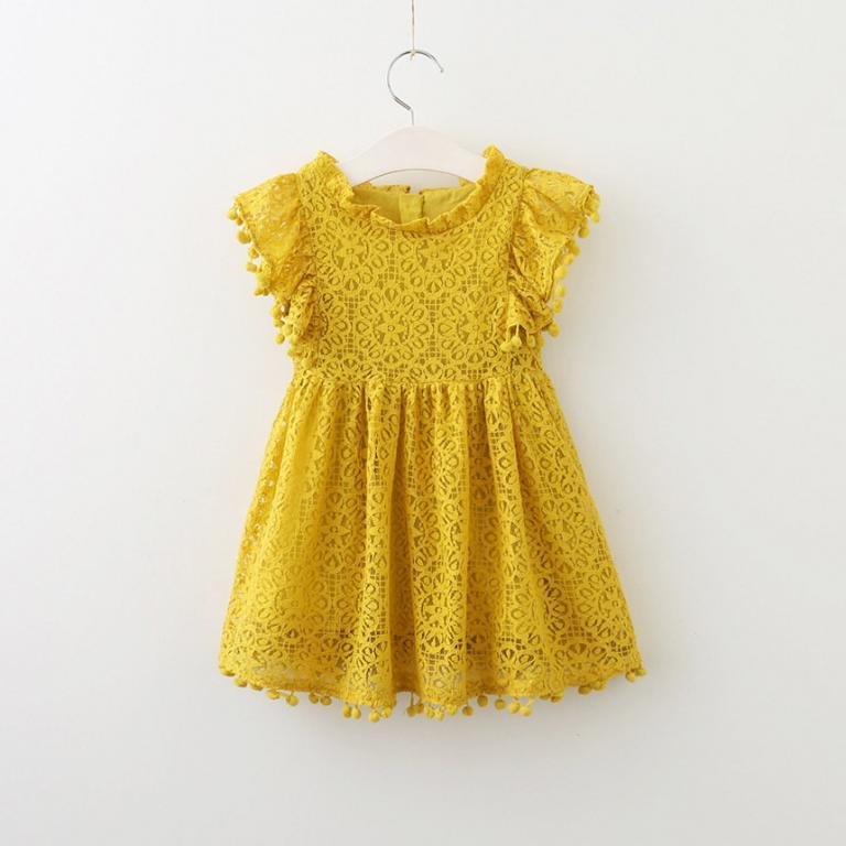 Ажурное кружевное платье для девочки Новинка