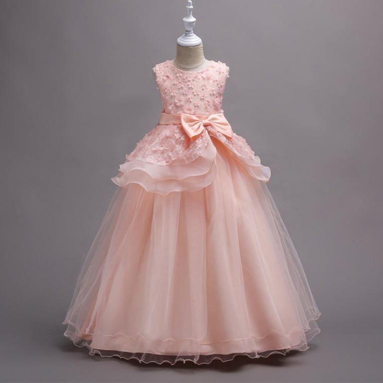 Платье нарядное длинное 4 расцветки Новинка