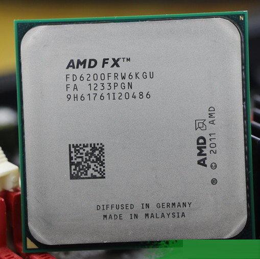 Процессор AMD FX 6200 AM3 3.8 Ггц 8 Мб 6 ядер