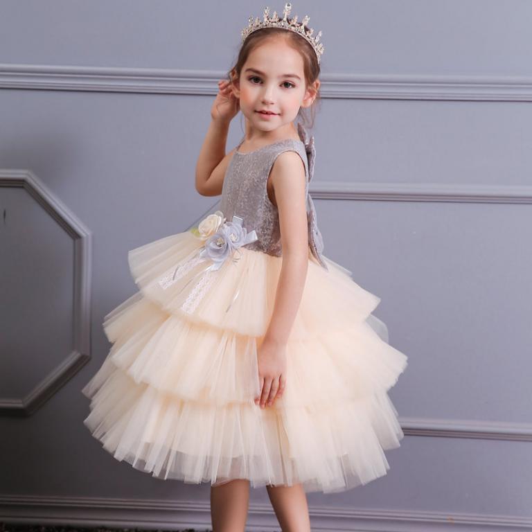 Нарядное платье с пышной юбкой Пайетки 4 цвета Новинка