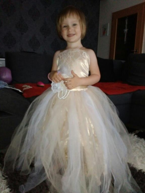 Нежное нарядное детское платье 5 расцветок