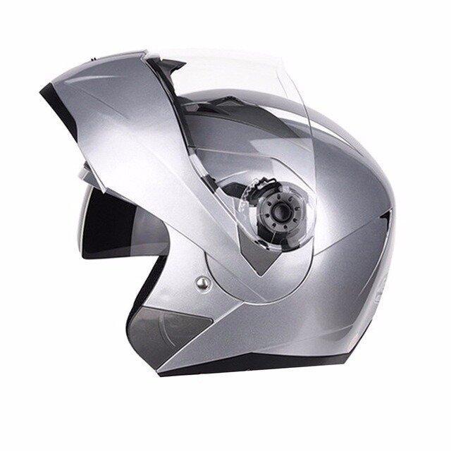 Мотошлем модуляр с очками Virtue 13 расцветок Новинка