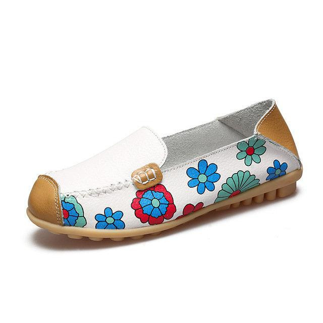 Цветные эспадрильи Мокасины кожа 6 расцветок