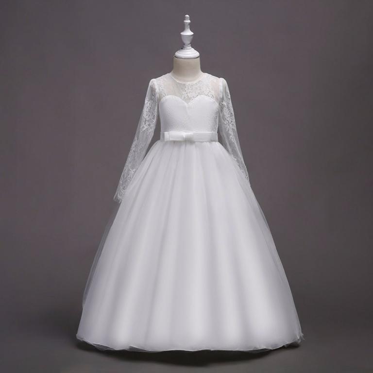 Длинное нарядное платье Кружево 8 расцветок