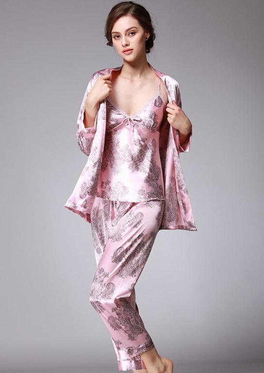 Роскошная женская пижама 6 расцветок