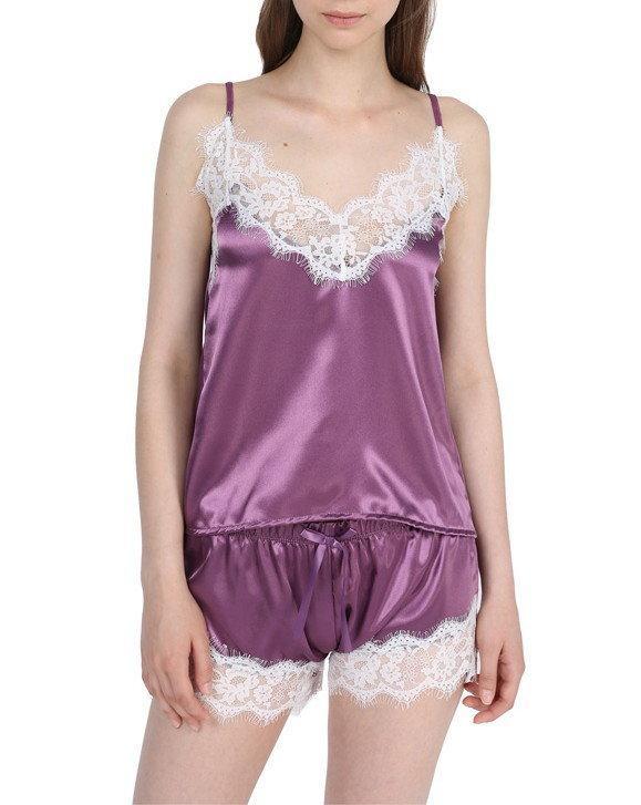 Пижама женская майка - топ и шорты 8 расцветок
