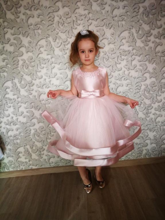 Праздничное нарядное платье 3 расцветки