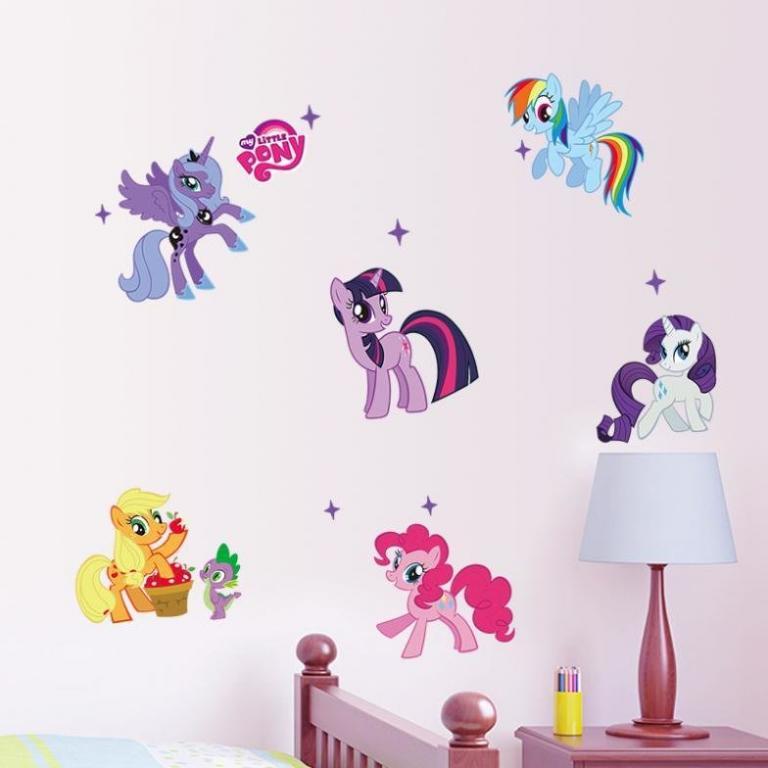 Стикеры Наклейки в детскую My Little Pony
