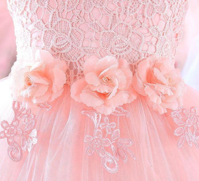 Нарядное платье для девочки 6 расцветок