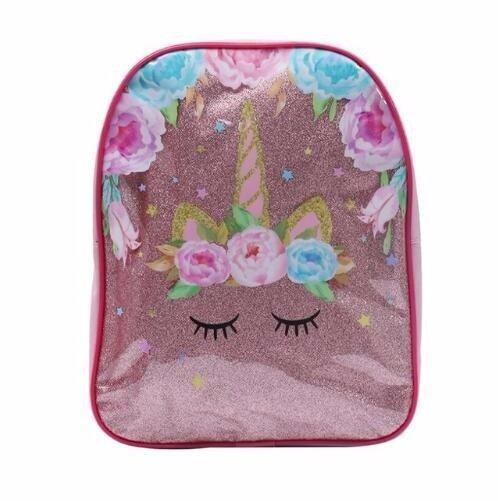 Розовый детский рюкзак Единорог Новинка Спорт