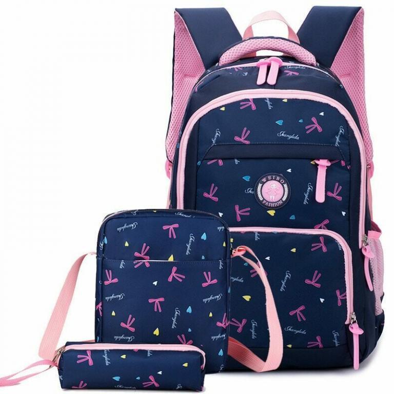 Комплект для школы Рюкзак Сумка Пенал 5 расцветок Новинка Турист