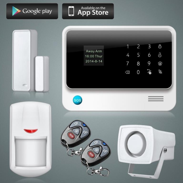 Сигнализация WI-FI GSM G90B для банков, офисов