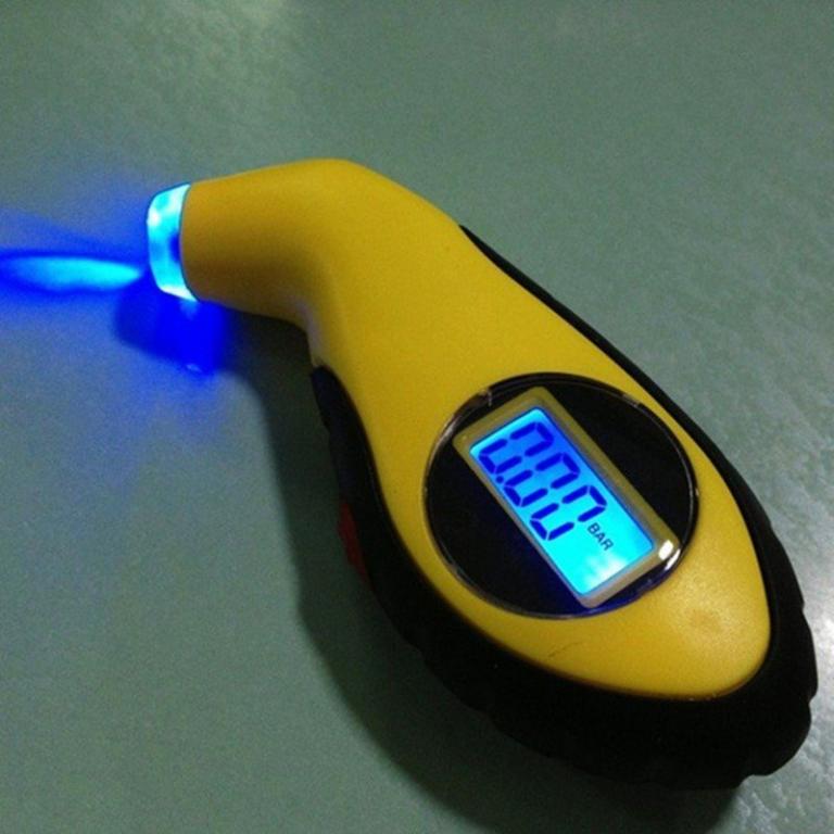 Манометр электронный с подсветкой