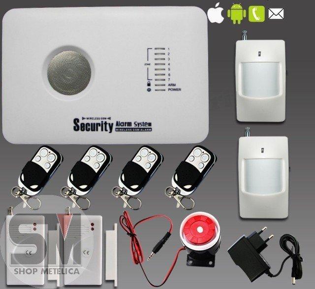 Сигнализация GSM 10C умный дом E-10 для банков, офисов
