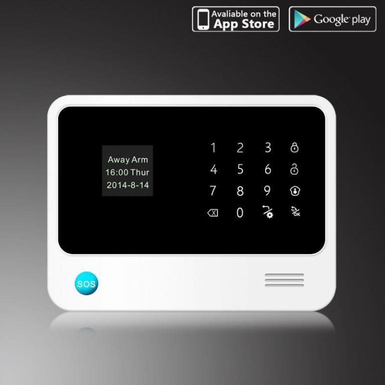 Сигнализация WI-FI GSM G90B С-12 для банков, офисов