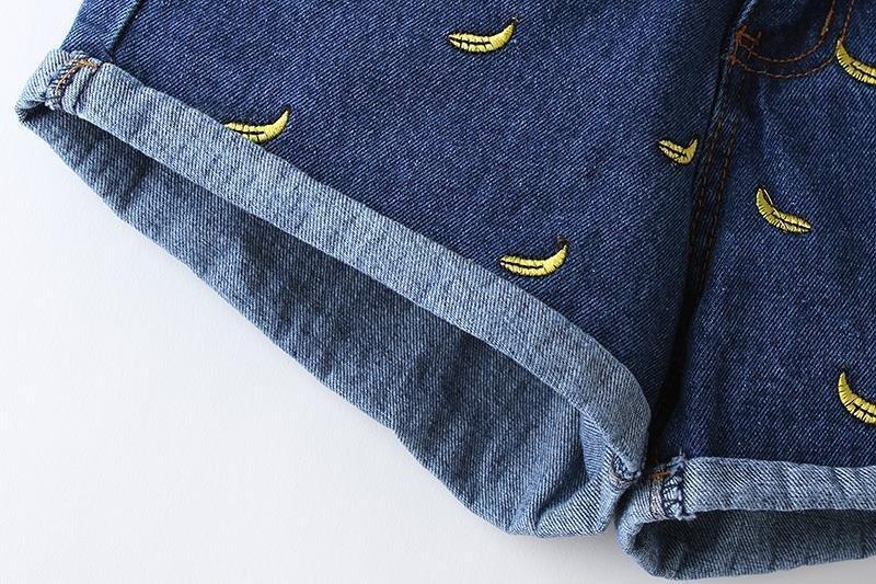 Шорты джинсовые Kisss Синие Голубые