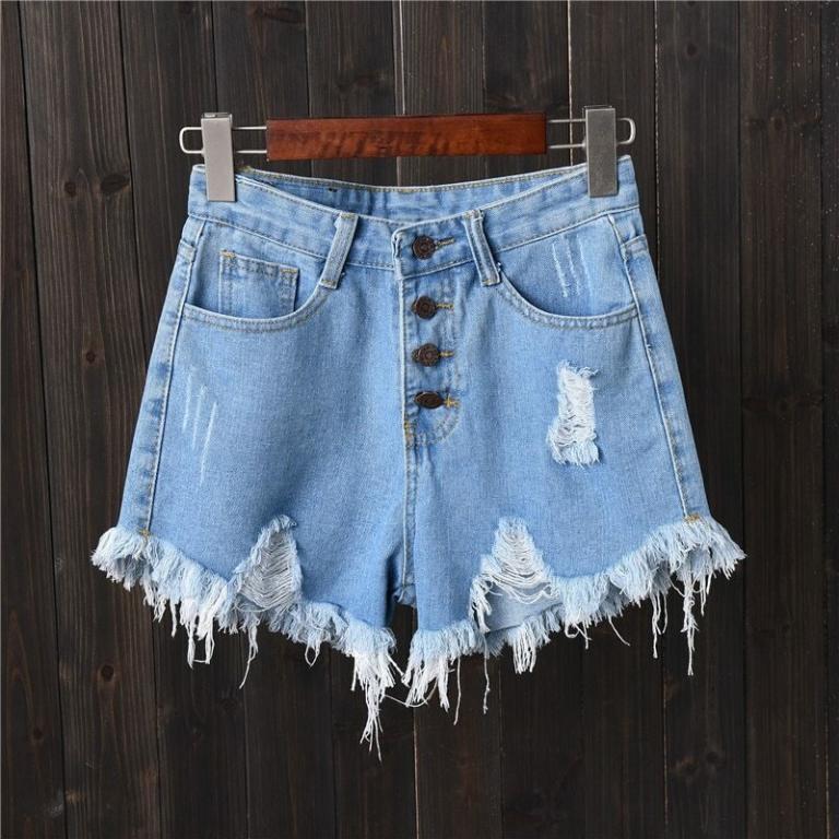 Шорты джинсовые 5 расцветок XS - 3XL
