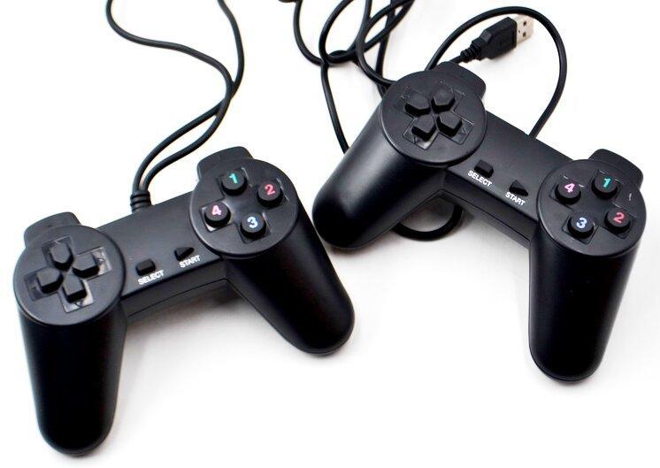 Проводной игровой USB джойстик набор 2 шт
