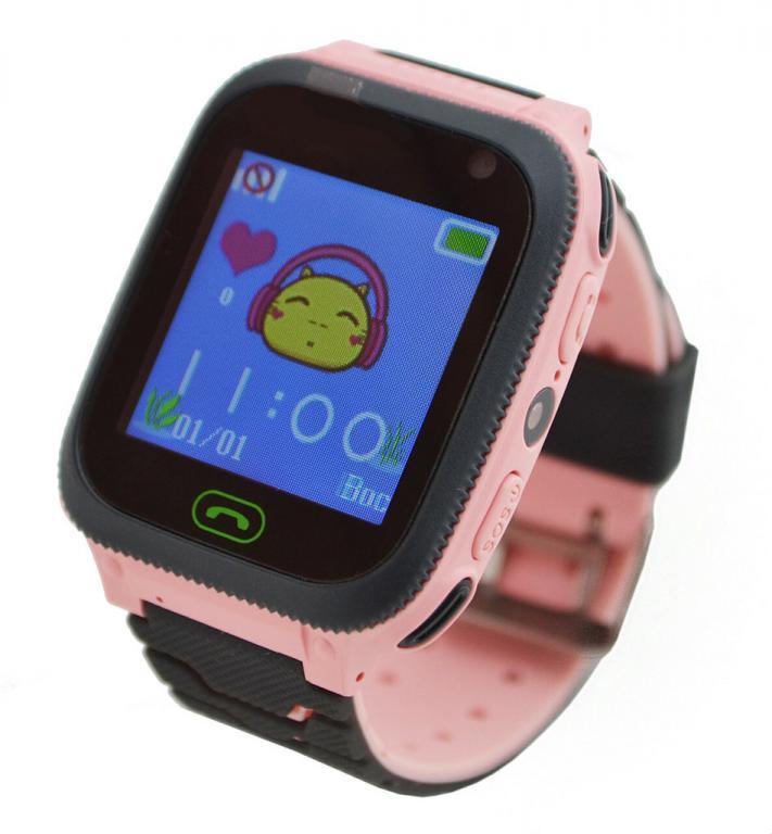 Детские умные смат часы F3 с GPS, фонариком и камерой Новинка 2019г