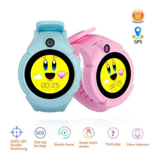 Детские наручные смарт часы Smart Baby Watch A17 Супер Новинка 2019г