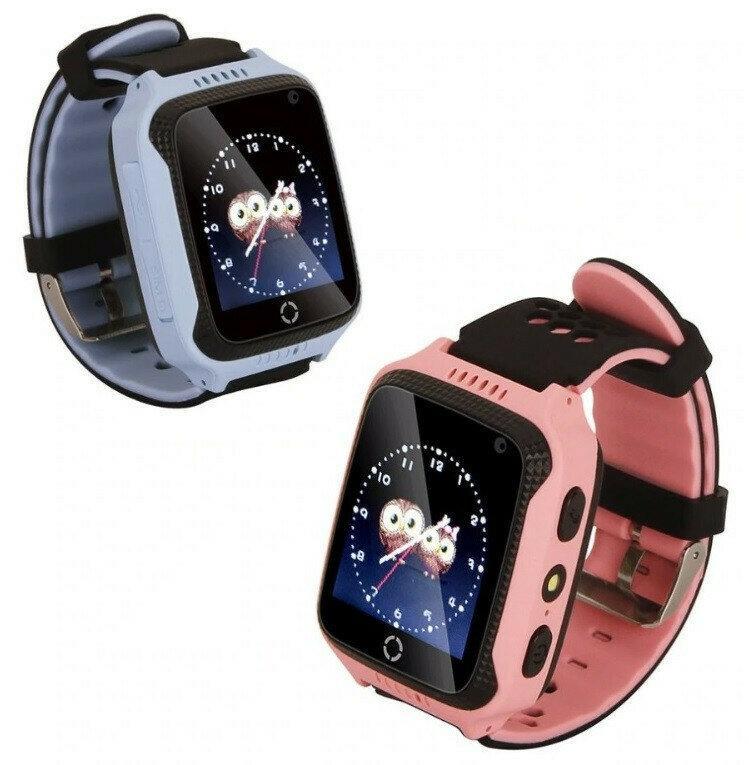 Детские умные смат часы M05 с GPS, фонариком и камерой