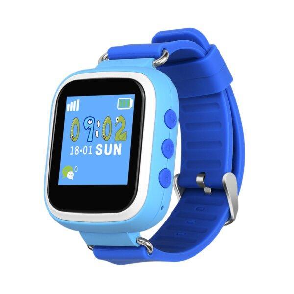 Детские смарт часы Smart Baby Watch Q80 Blue голубые