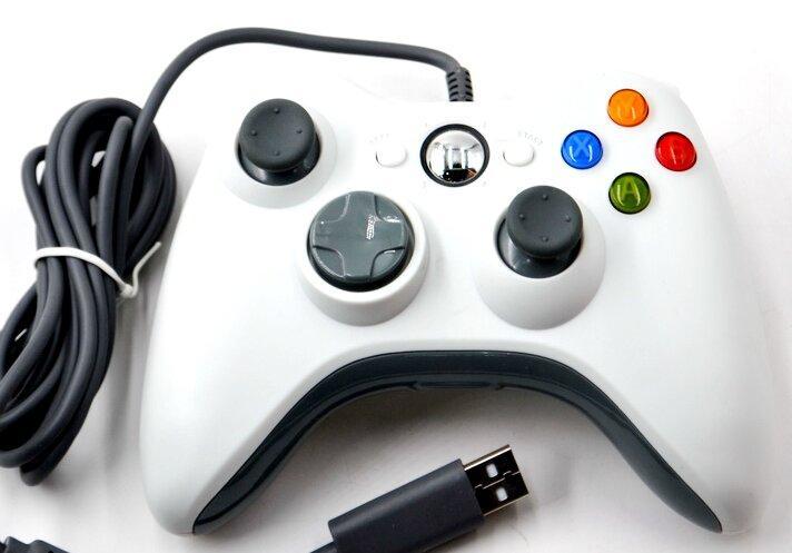 Проводной игровой USB джойстик