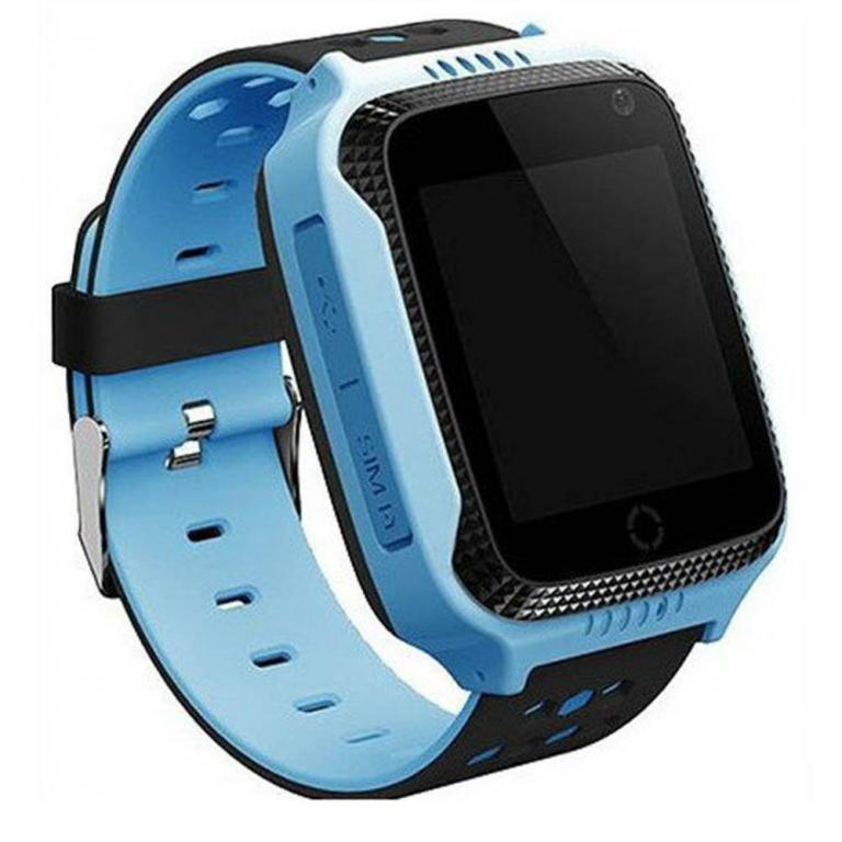 Детские наручные смарт часы Smart Baby Watch A15 Голубой