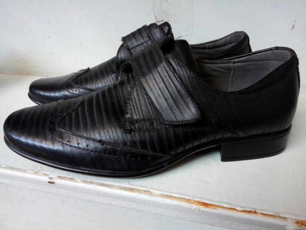 Туфли на мальчика классика в школу последний размер 27