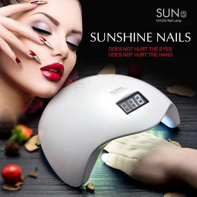 Ультрафиолетовая лампа для наращивания ногтей LED SUN 5 Nail Lamp