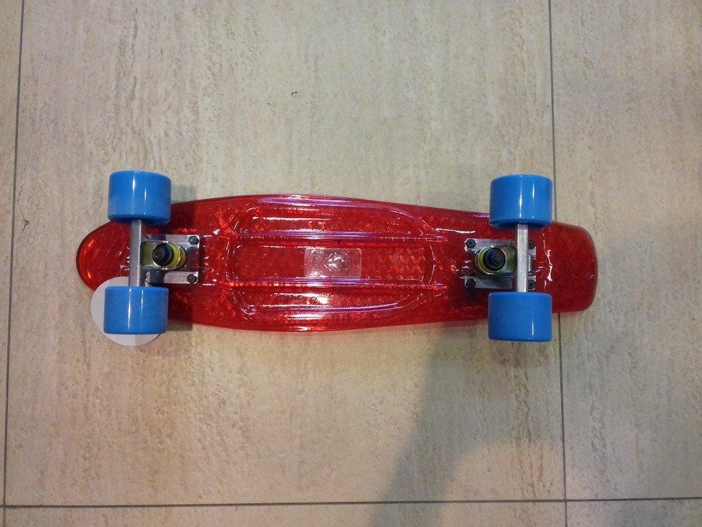 Скейтборд/скейт Penny Board прозрачный Пенни борд