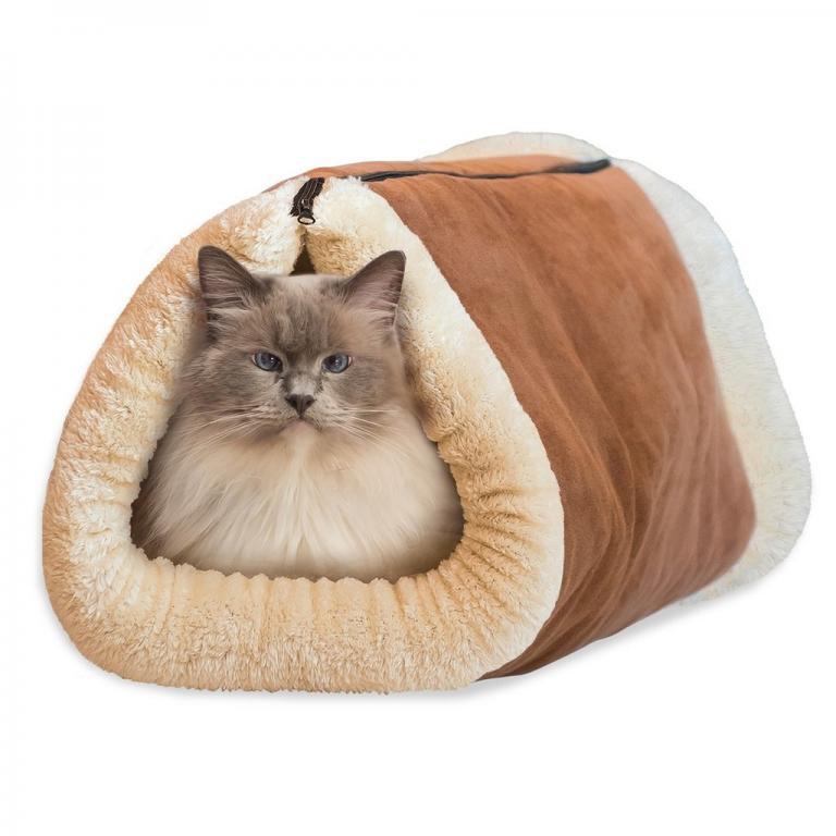 Подстилка-Домик валик для кошек - Kitty Shack