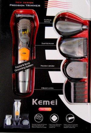 Универсальная электробритва-триммер - Kemei KM-580A 7 в 1