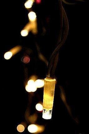 Фасадная 120 LED-гирлянда-бахрома, 3 0,7 м, мульти, белый, золотой