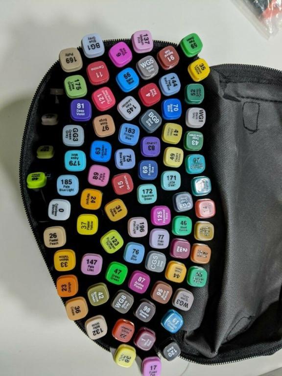 Набір маркерів 80 кольорів