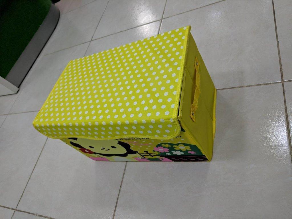 Складной короб для хранения игрушек - Смайл Лев