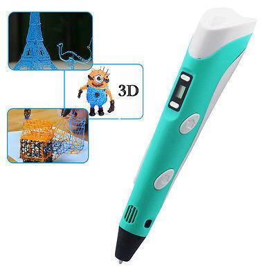 3D Ручка для рисовнаия объемных моделей Stereo Drawing Pen RP-100B