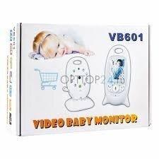 Видеоняня Video Baby Monitor VB601 с режимом ночного видения и двусторонней связью