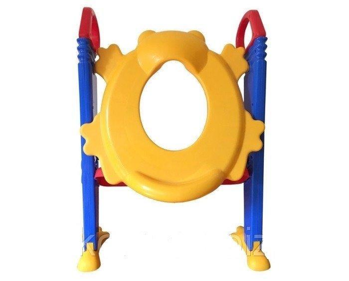 Детское сиденье на унитаз с приставной лестницей Froggie