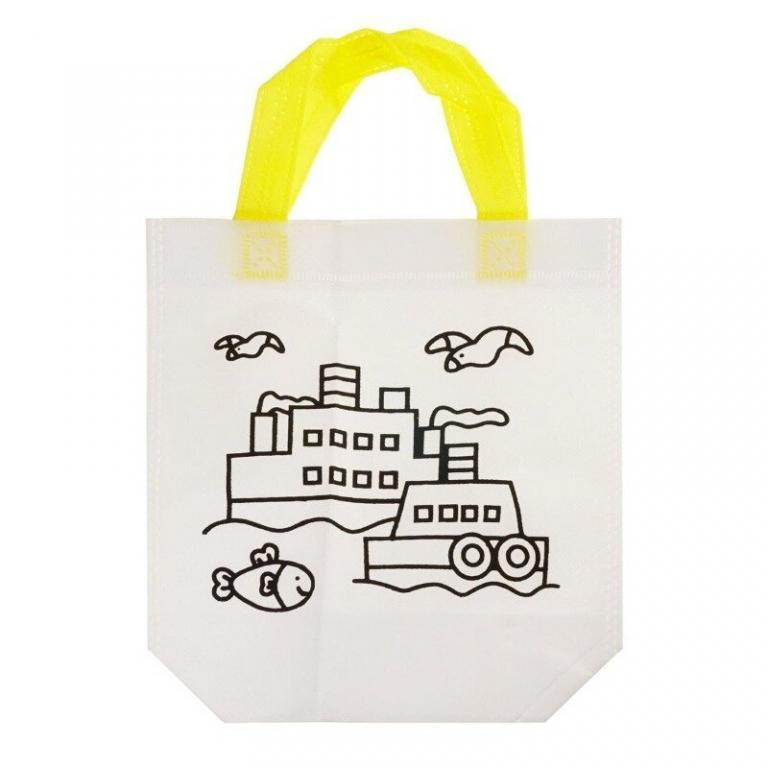 Детская сумка-раскраска Русалка - набор для детского творчества