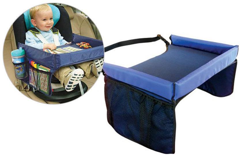 Автомобильный столик для детского автокресла Play n Snack Tray - детский столик для автокресла